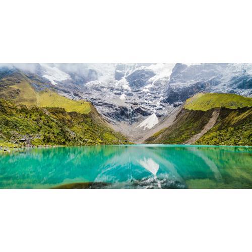 Infraobraz Horské jezero 120x60cm (600W)