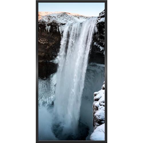 Infraobraz Zimní vodopád 60x120cm (600W)