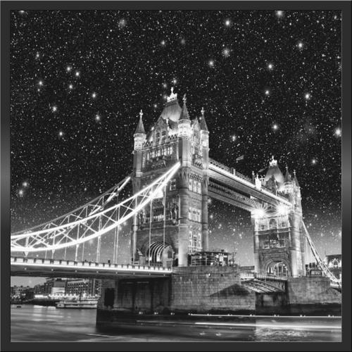 Infraobraz Tower Bridge 60x60cm (300 W)