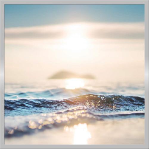 Infraobraz Západ slunce nad mořem 60x60cm (300W)