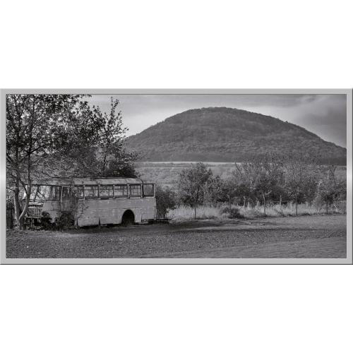 Infraobraz Hora Říp 120x60cm (600W)